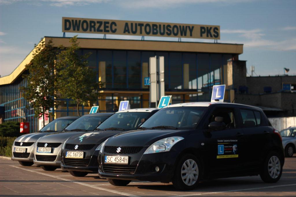 Parking przy pks częstochowa - AS Prawo Jazdy Częstochowa